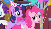 Pinkie Pie 'His party was cut short' S1E25