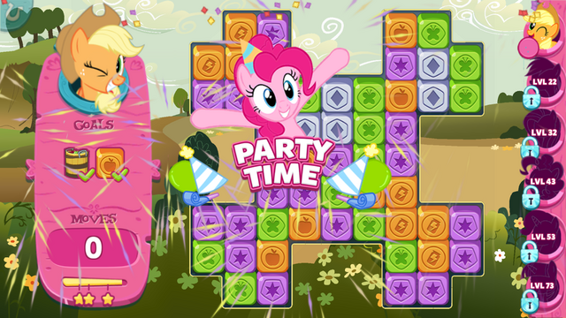 File:Puzzle Party screenshot - Level cleared.png