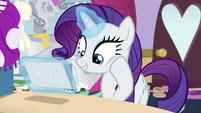 "Rarity ""we had that kind of fun together"" S7E6"
