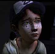 The walking dead Clementine crying