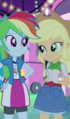 Applejack and RD at carnival EG2.png