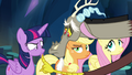 Discord lowers Twilight's lip into a pout S4E25.png