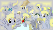 FANMADE Derpy Collage Mewkat14