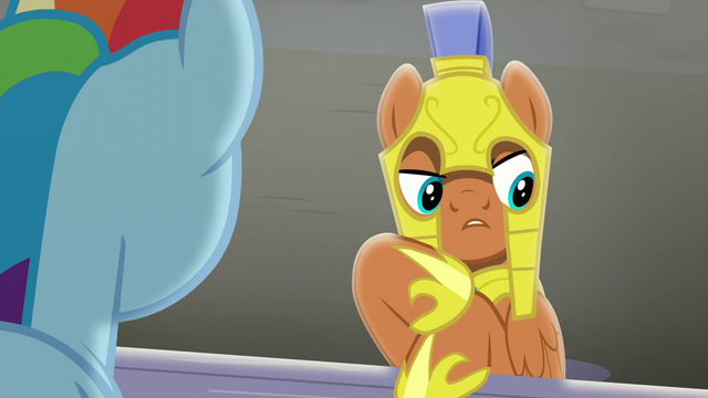 "File:Guard ""yours and Spitfire's"" S5E15.png"