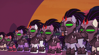 King Sombra's mind-controlled army S5E25