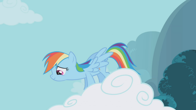 File:Rainbow Dash amused S1E05.png
