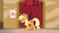 Applejack fails to find a friendship problem S6E20