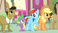 Rainbow 'She actually has a goof off rulebook' S4E12