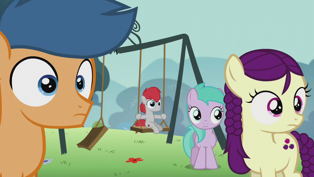 File:Students watch Pipsqueak; one of them on a swing S5E18.png