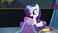Rarity singing while sewing S6E8