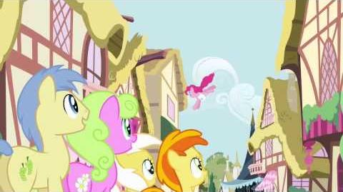 Romanian My Little Pony Pinkie The Party Planner Song HD