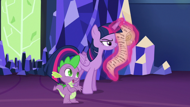 """File:Spike """"they were all on a ship that sank"""" S6E22.png"""