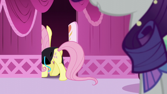 File:Fluttershy going into changing room S5E21.png