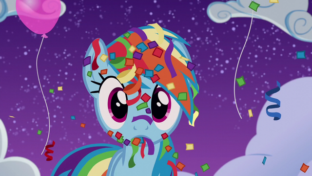 File:Rainbow covered in confetti and streamers S6E7.png