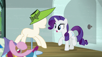 "Rarity ""shouldn't let this time go to waste"" S6E9"