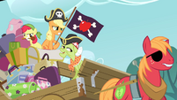 The Apples as pirates S4E09