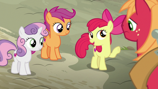 """File:Apple Bloom """"don't worry, Big Mac"""" S7E8.png"""