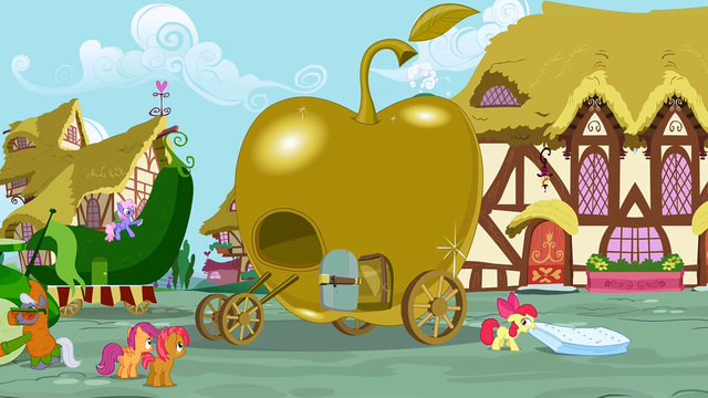 File:Apple Bloom dragging a mattress S3E04.png
