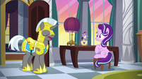 "Royal guard ""Princess Luna's waiting for you"" S7E10"