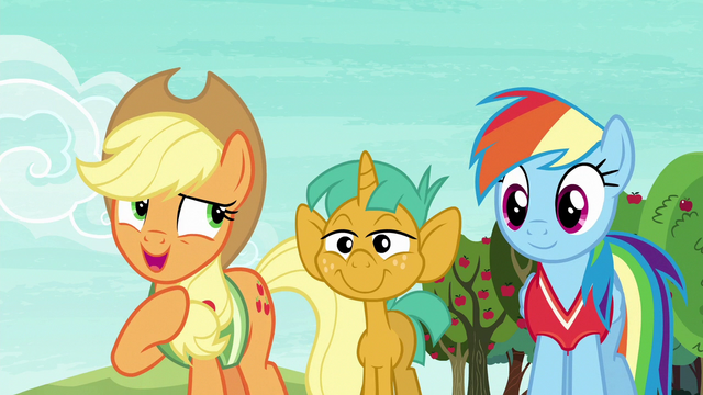 "File:Applejack ""I can't explain it"" S6E18.png"