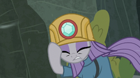 Maud Pie blown by the gorge winds S7E4