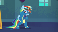 "Rainbow Dash ""just gotta go out there"" S6E7"