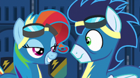 "Rainbow Dash ""the 'Fash' is for 'Fashion'"" S6E7"