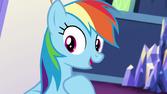 Rainbow reassuring Pinkie S5E11