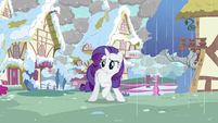 Rarity hope she's alright S3E13