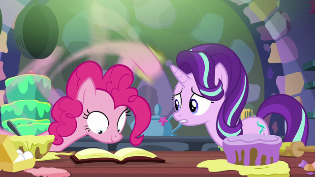 "File:Starlight Glimmer ""only gone a few minutes!"" S6E21.png"