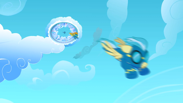 File:The Wonderbolts try to save Rarity S1E16.png