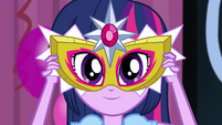 Twilight Sparkle's mask EG2
