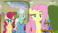 Fluttershy being particularly reprimanding S6E11