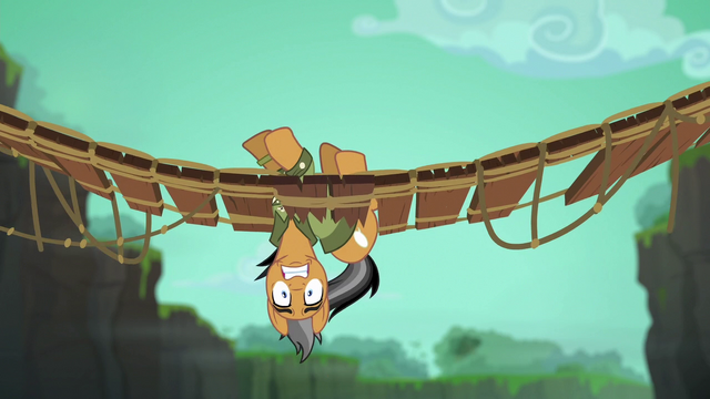 File:Quibble hanging upside-down in bridge S6E13.png