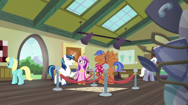 """File:Shining Armor """"this reminds me of the time"""" S7E3.png"""