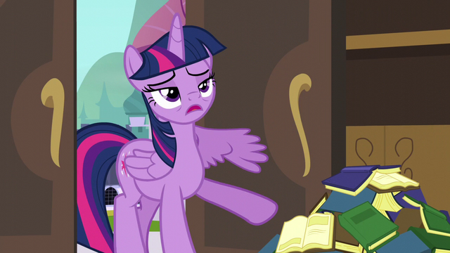 File:Twilight staggering into the room S5E10.png