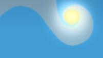 Clouds blocking the sun S1E14