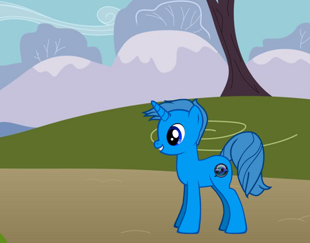 File:FANMADE Pony With Background.png