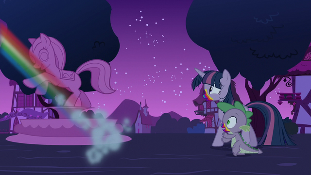 File:Rainbow flies away from Twilight and Spike S6E15.png
