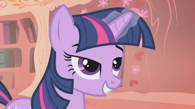 File:Twilight writing her letter to Celestia S1E6.png
