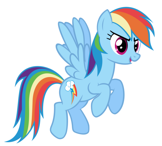 File:FANMADE Rainbow Dash flying 2.png