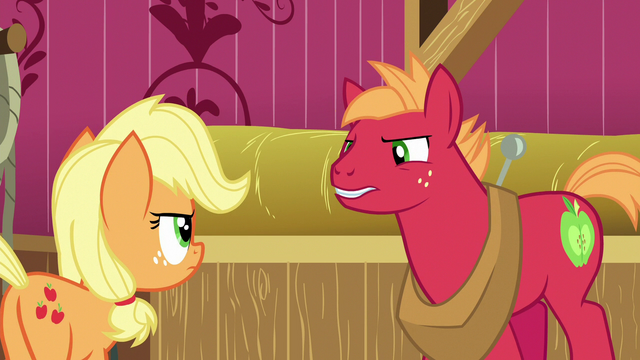 File:Young Big McIntosh arguing with Applejack S6E23.png