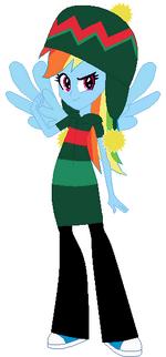 FANMADE Rainbow Dash Winter