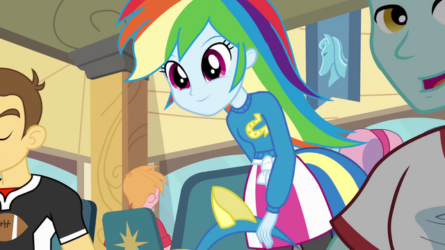 File:Rainbow Dash sitting down EG.png