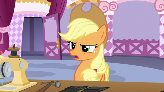 File:Applejack criticizing Inky Rose's design choices S7E9.png
