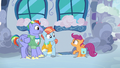 Bow and Windy delighted to meet Scootaloo S7E7.png