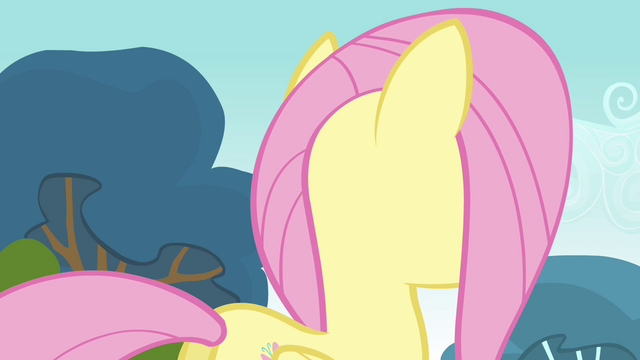 File:Fluttershy about to turn around S2E22.png