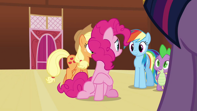 File:Pinkie Pie 'I couldn't leave my friends, I just couldn't S3E3.png