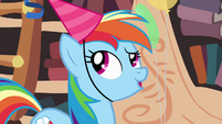 "Rainbow Dash ""oh right"" S4E04"
