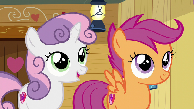 "File:Sweetie Belle ""but now we don't have to"" S6E4.png"